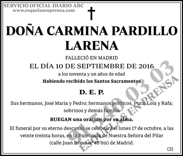 Carmina Pardillo Larena